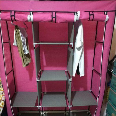 Складной каркасный тканевый шкаф Storage Wardrobe 88130