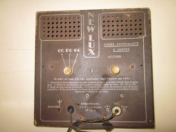 Radio antigo didactico