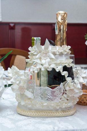 Свадебная корзинка под шампанское (300 рублей, торг)