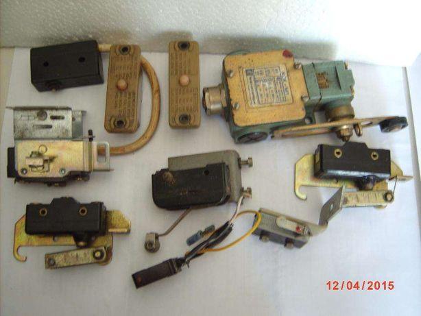 Micro Switch + Peças de motores monofásicos.