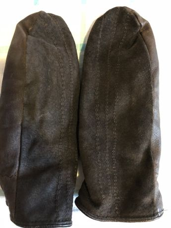 Rękawiczki damskie skórkowe zimowe