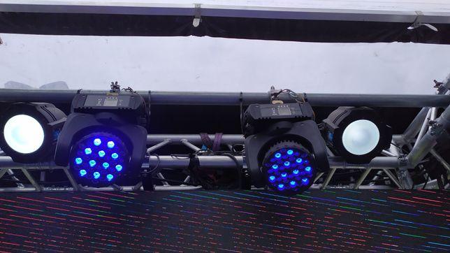 Mini Wash LED 36x3w RGBW