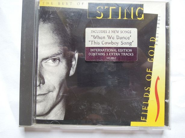 sting - fields of gold the best of