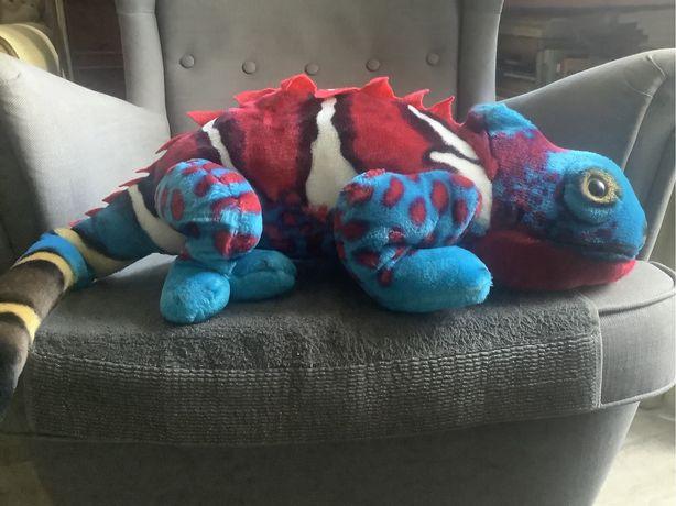 Iguana , jaszczurka maskotka.