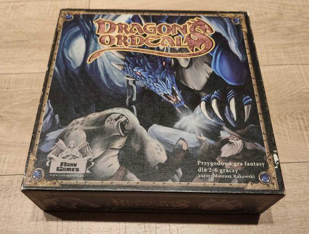 Dragon's Ordeal PL - gra planszowa