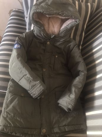Курточка для мальчика на синтипоне