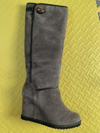 Итальянские сапоги Miss Sixty. Распродажа обуви