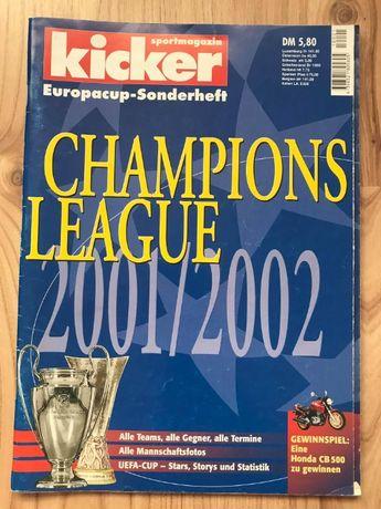 Skarb Kibica Kicker Liga Mistrzów 2001/02
