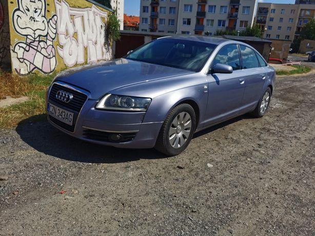 Audi A6C6 4F 2004r 2.0 tdi Klima Xenon OC i przegląd na rok