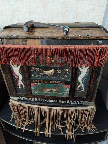 Шарманка, старинный  музыкальный инструмент