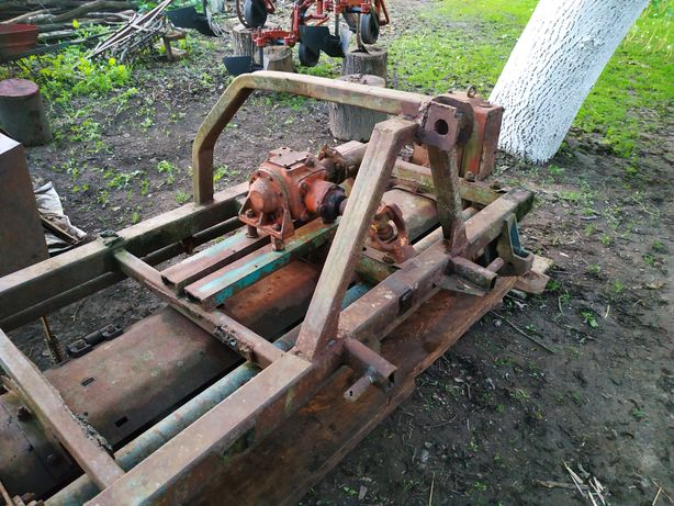 Продам фрезу грунтову 1.8м на трактор МТЗ, ЮМЗ.