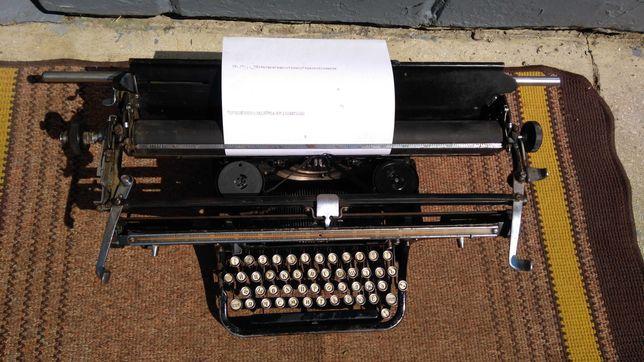 Печатная машинка Москва (робочая)