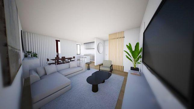 Apartamento T3 em Viseu junto ao Fontelo e parque de Santiago