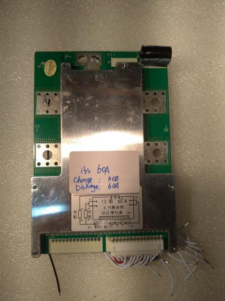 BMS 48V (13s) 20A/35A/60A Li-ion bateria 3.7v (4.2v)