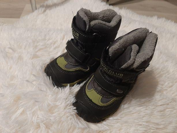 Buty zimowe chłopięce rozmiar 20