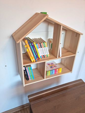 Ikea Flisat Drewniany Domek półeczka dziecięca
