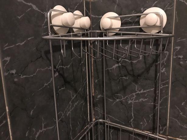 Prateleira canto ikea para duche ventosas casa de banho