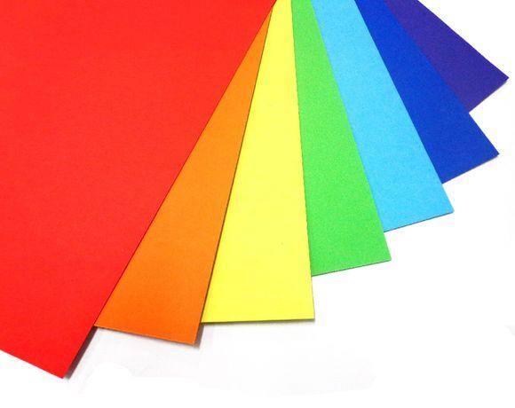 Бумага цветная для принтера А4 80г/м