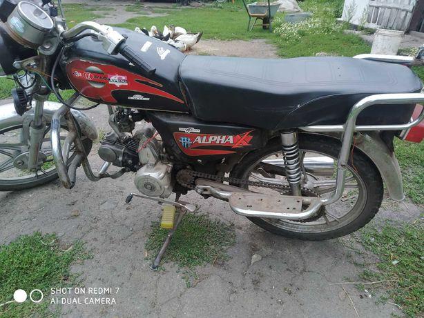 Продам мотоцикл альфа