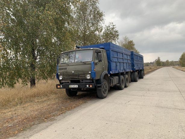 Срочно РАССРОЧКА Камаз 5320 Зерновоз Сцепка