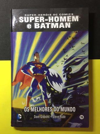 Super-Heróis DC Comics. Super-homem e Batman (Portes CTT Grátis)