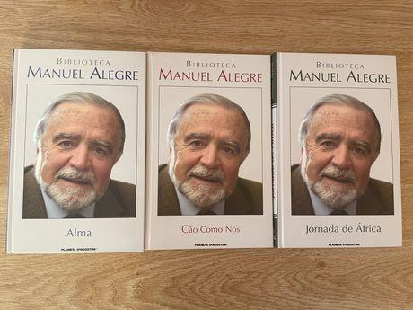 """Livros da colecção """"Biblioteca Manuel Alegre"""" separados ou em conjunto"""