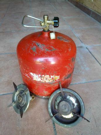 Butla gazowa turystyczna z palnikiem