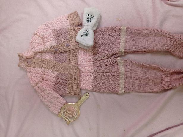Дитячий вязаний костюм
