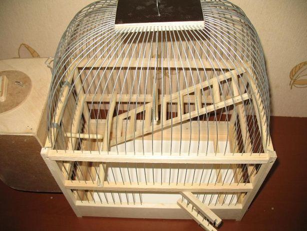 Клетка для волнистых попугаев (НОВАЯ).