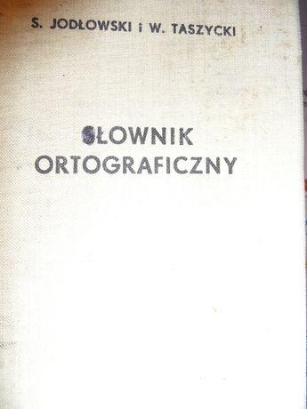 Słownik ortorraficzny Jodłowski Taszycki