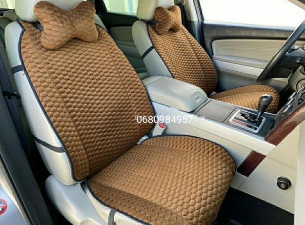 Накидки на сиденья VIP, Premium. Алькантара Еко-кожа. Все марки авто