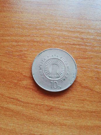10 zlotych 1969r XXV rocznica PRL