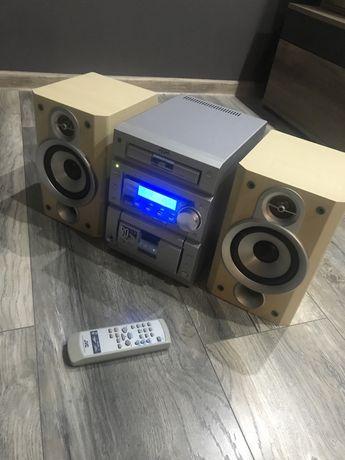 Wieza JVC model UX-P5R, CD, AUX, 2 x 50 W