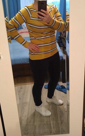 Sweterek damski XL miodowy kolor