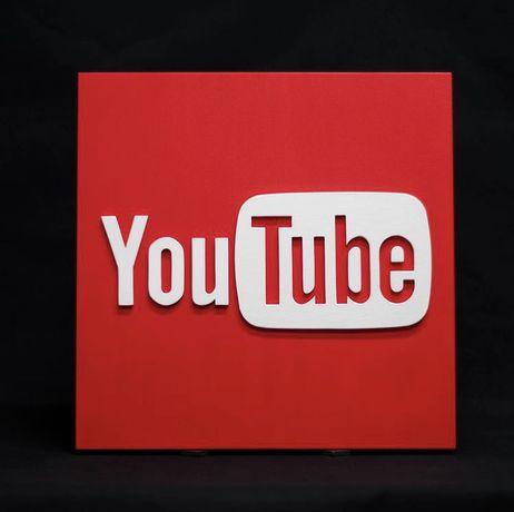 3D постер YouTube