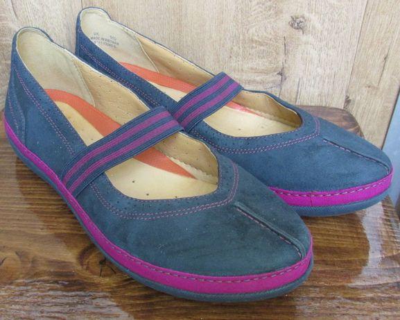 Балетки туфли мокасины Clarks 38 размера, стелька 25см Оригинал