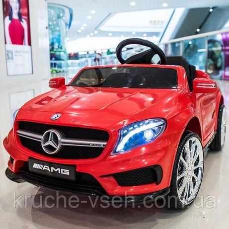 Mercedes GLA 45, детский электромобиль M 3995, кож.сиденье, EVA колеса