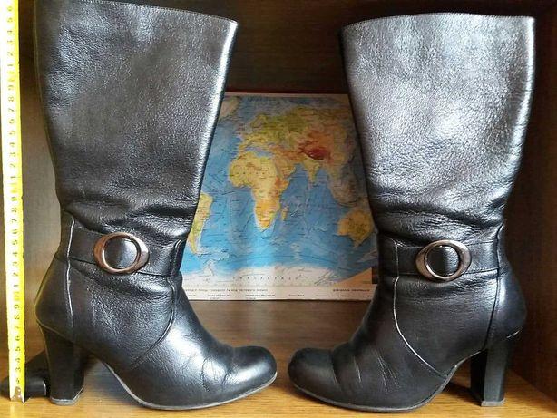 чоботи шкіряні демісезон