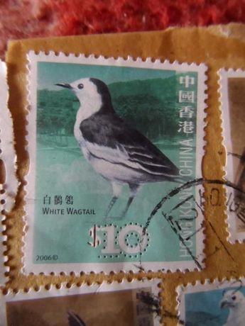 Selos Hong Kong China (Pássaros)