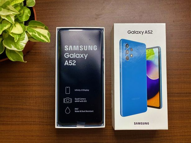 Samsung A52 . Niebieski