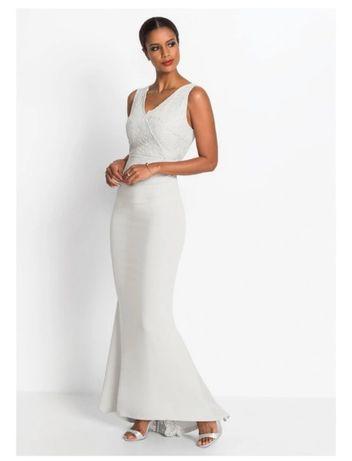 Suknia ślubna syrenka syrena biała z koronką