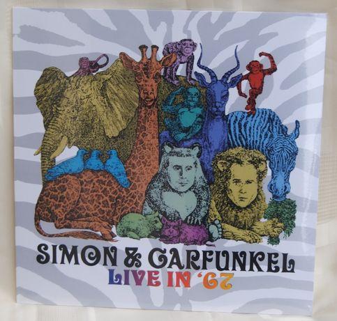 "Simon & Garfunkel*Live In ""67/LP Nowa"