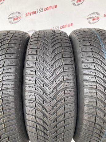 Зимові шини б/у 225/60 R16 MICHELIN ALPIN A4 (Протектор 6,5mm) 4 шт
