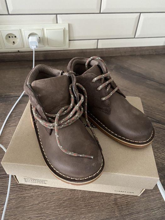 Кожаные ботинки Clarks Ужгород - изображение 1