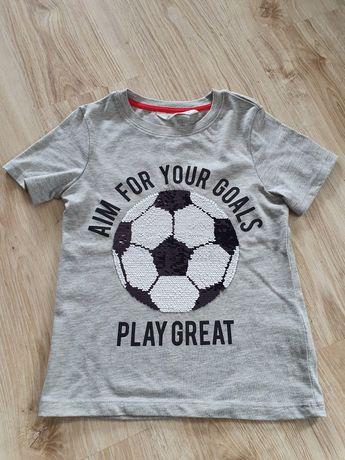 Koszulka H&M z odwracanymi cekinami