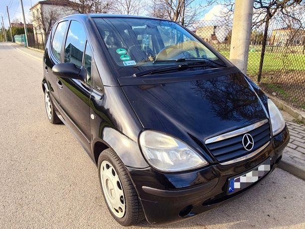 Mercedes A Klasa 1.6 Benzyna 2001r Polecam Okazja Ładne Autko !!
