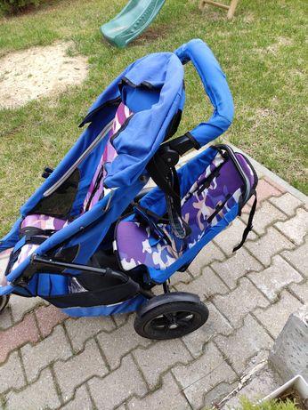 Spacerówka dla dwójki dzieci phil&teds navigator sport