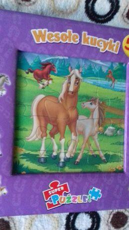 książka z dużymi puzzlami
