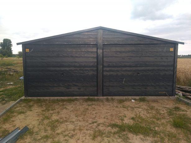 Garaż blaszak 6x5 antracyt, kolor paleta ral ,wiaty ,hale