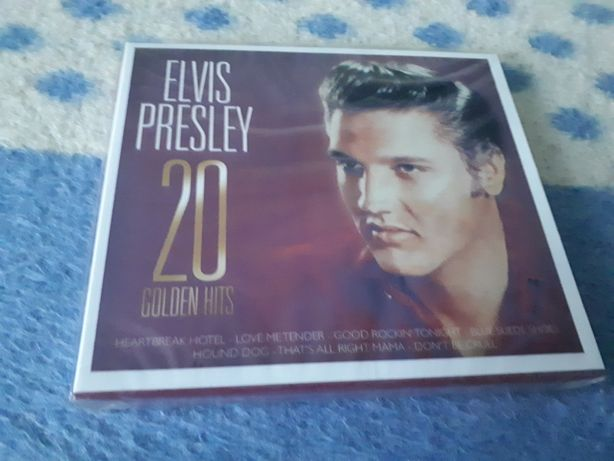 Płyta cd Elvisa Presleya Gold nowa
